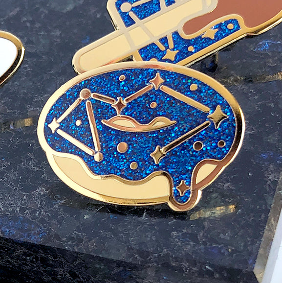Galaxy Sweets Enamel Pin