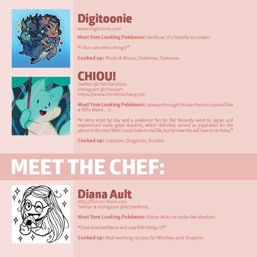 Pokecafe [DIGITAL ZINE]
