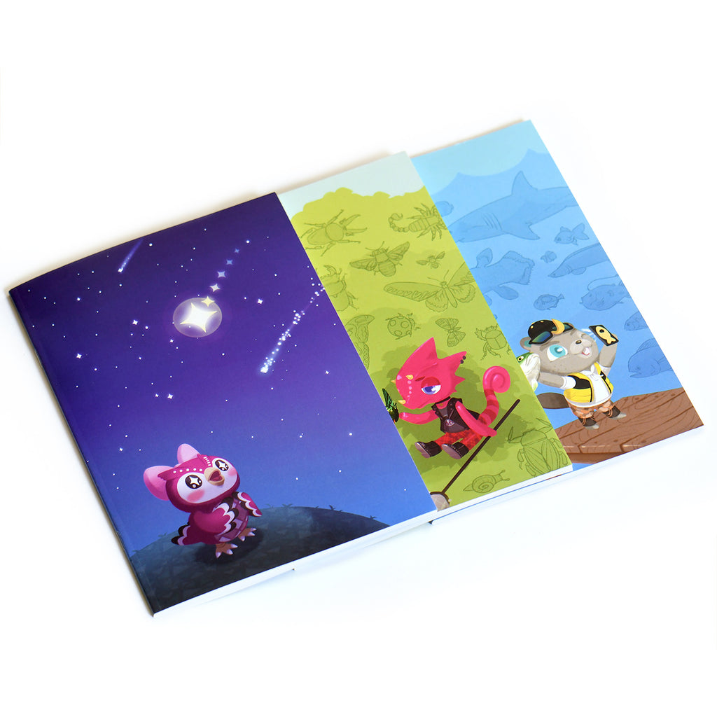 Animal Crossing Notebooks