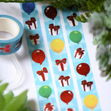 Animal Crossing Balloon Presents Foil Washi Tape