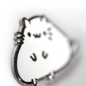 Chonker Squiggle Cat Pin