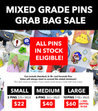 MIXED GRADE PIN GRAB BAG