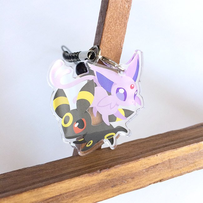 Umbreon Espeon Charm