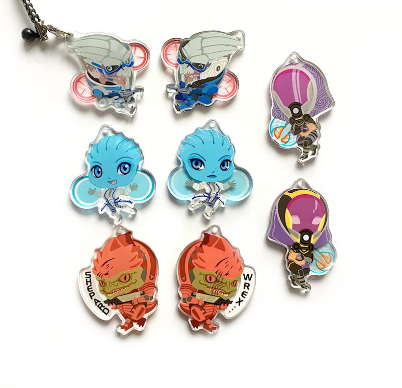 Mass Effect Charms
