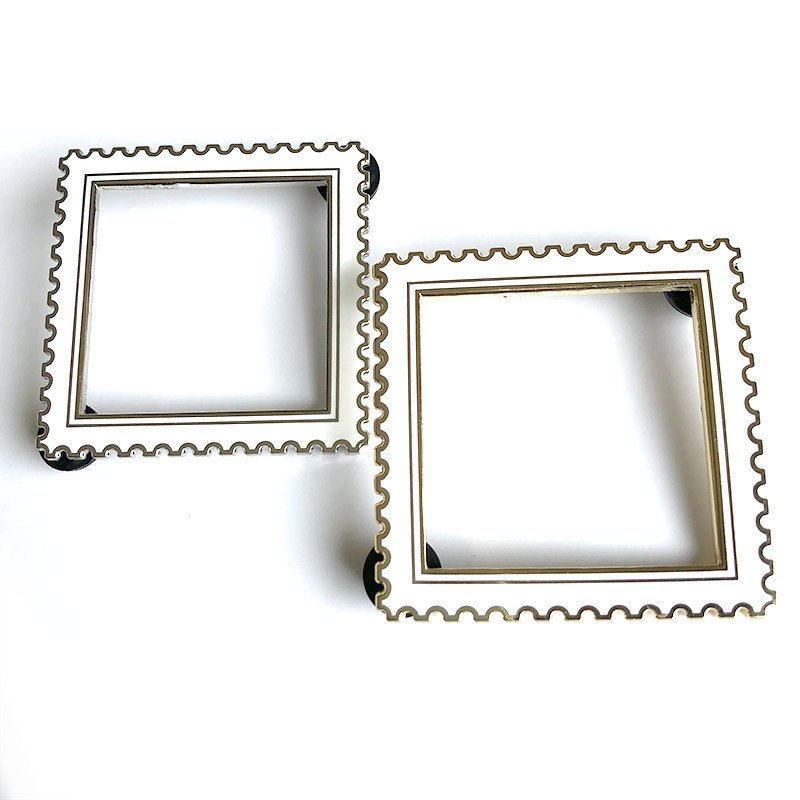 Postage Stamp Frame Pins [Seconds]