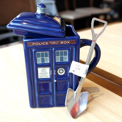 Free shipping Doctor Who Tardis Creative Police Box Mug - Just Cool Stuffs