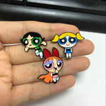 Cartoon Cute The Powerpuff Girls Metal pin - Just Cool Stuffs