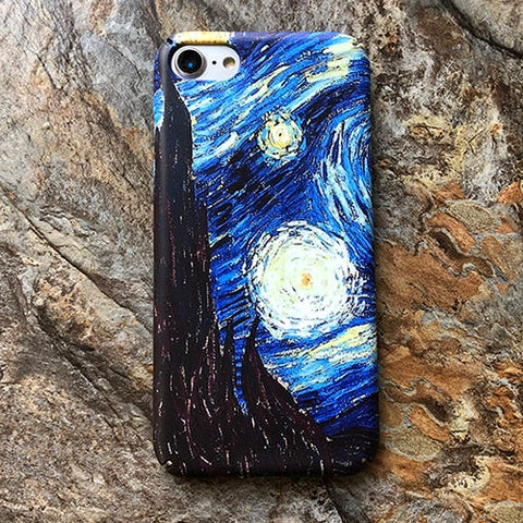 Kerzzil For Van Gogh Abstract Art Painting Matte Hard Phone Case - Just Cool Stuffs
