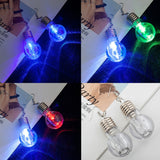 2019 Unique Design Colorful Light Bulbs Drop Earrings - Just Cool Stuffs