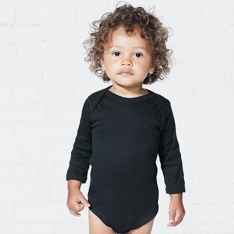 Rabbit Skins 4411 Infant Long Sleeve Bodysuit