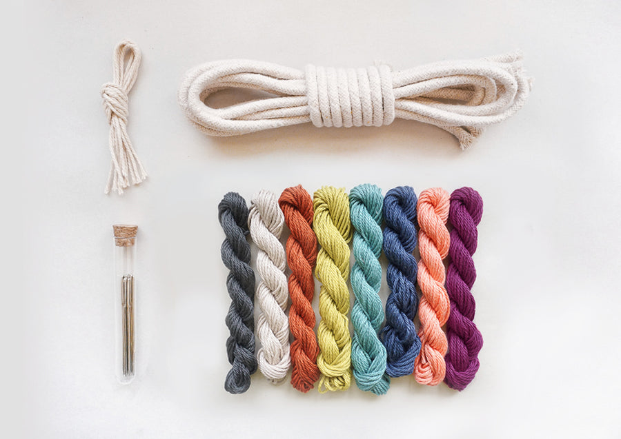 DIY Yarn Rainbow Kit