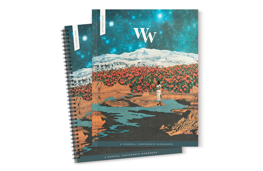 October 2020 General Conference Workbook. Available in both perfect and spiral bound.