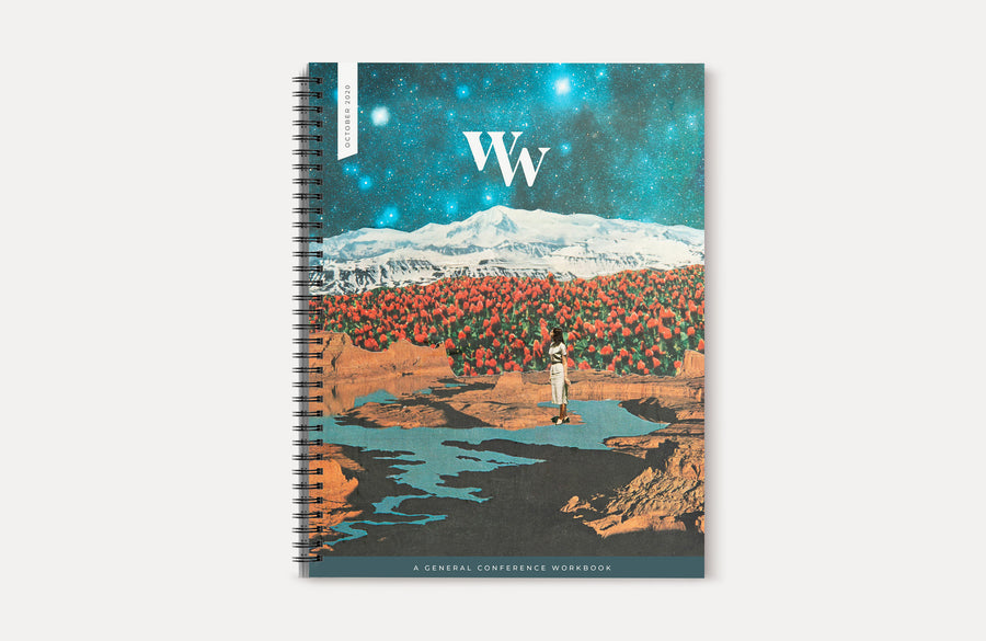 October 2020 General Conference Workbook. Available in spiral bound.