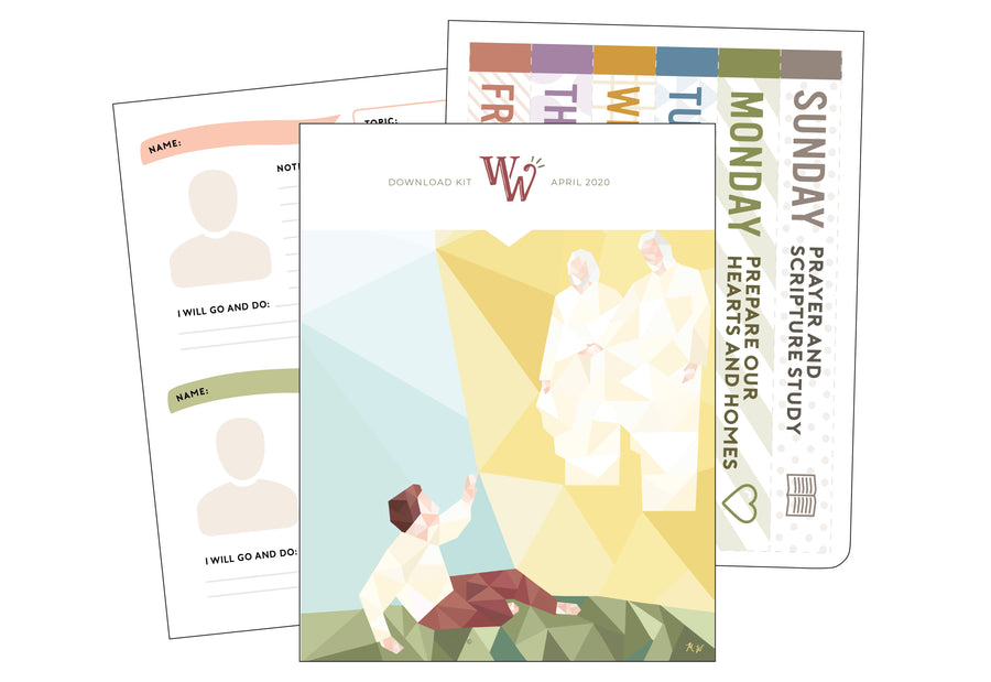 April 2020 Children's Download Kit | FOR PRIMARY