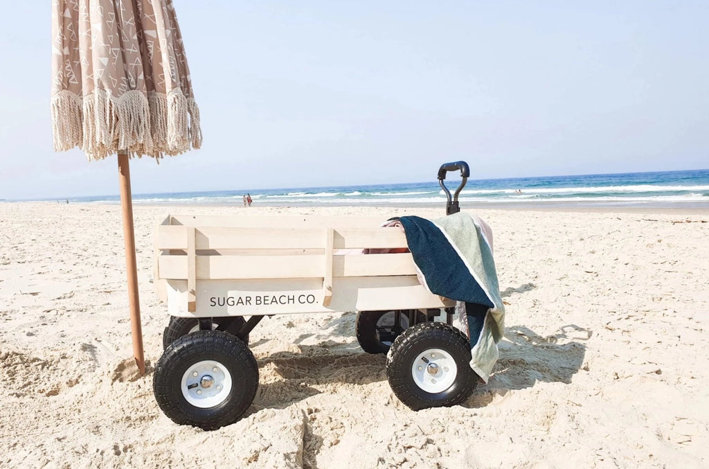 Natural Beach Cart