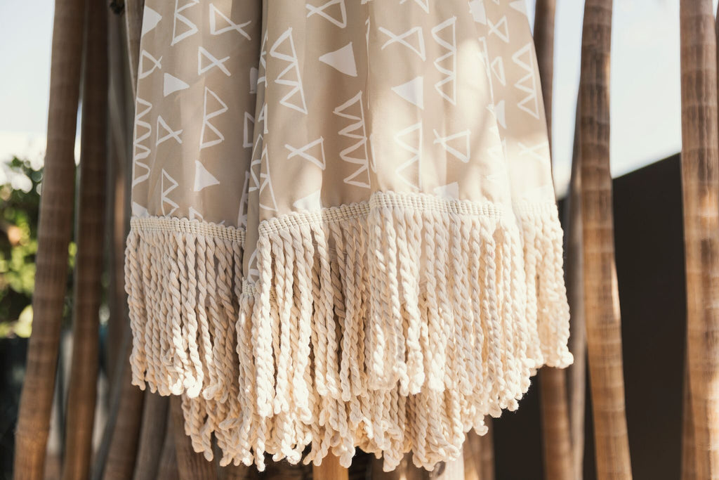 Nude Limited Edition Tassel Beach Umbrella