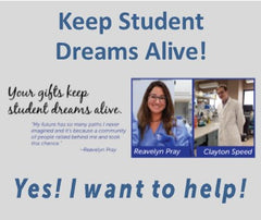 Keep Student Dreams Alive!
