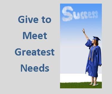 Give to Greatest Needs