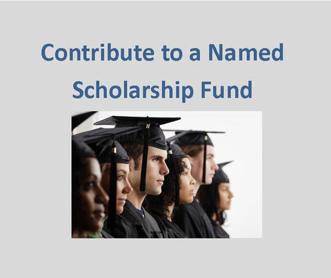 Contribute to a Named Scholarship Fund