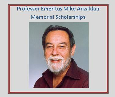 Prof. Mike Anzaldúa Memorial Scholarships