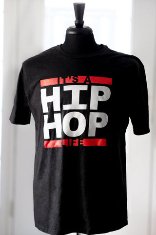 Hip Hop Life Mens t-shirt