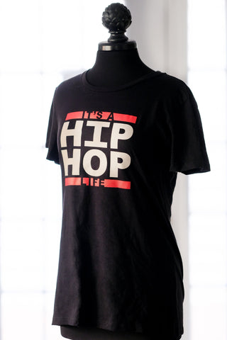 Hip Hop Life Womens t-shirt