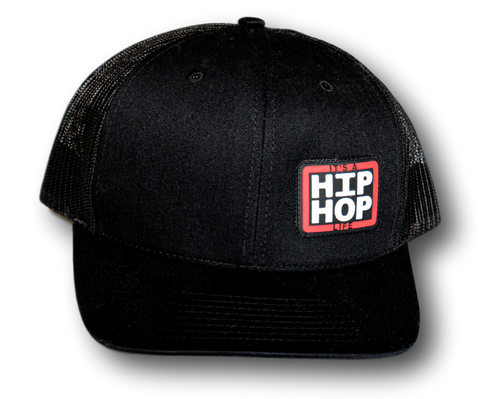Hip Hop Life Trucker Hat w/ rubber logo