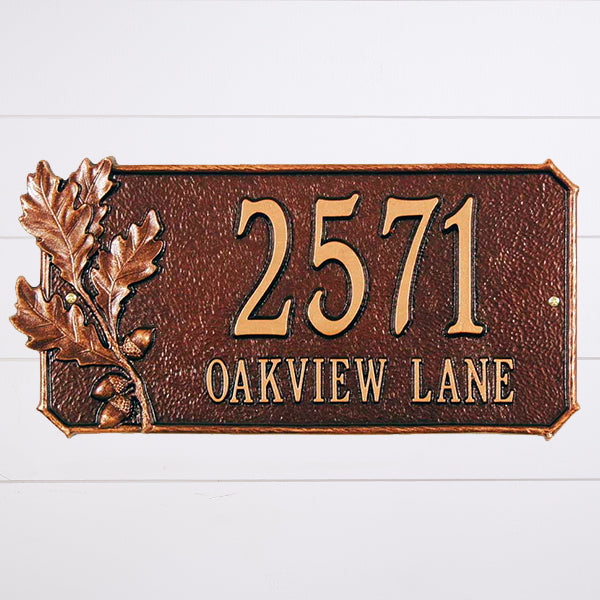 Address & Name Signs