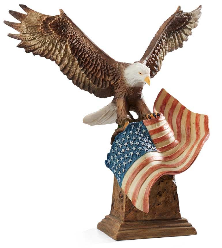Patriotic Sculpture