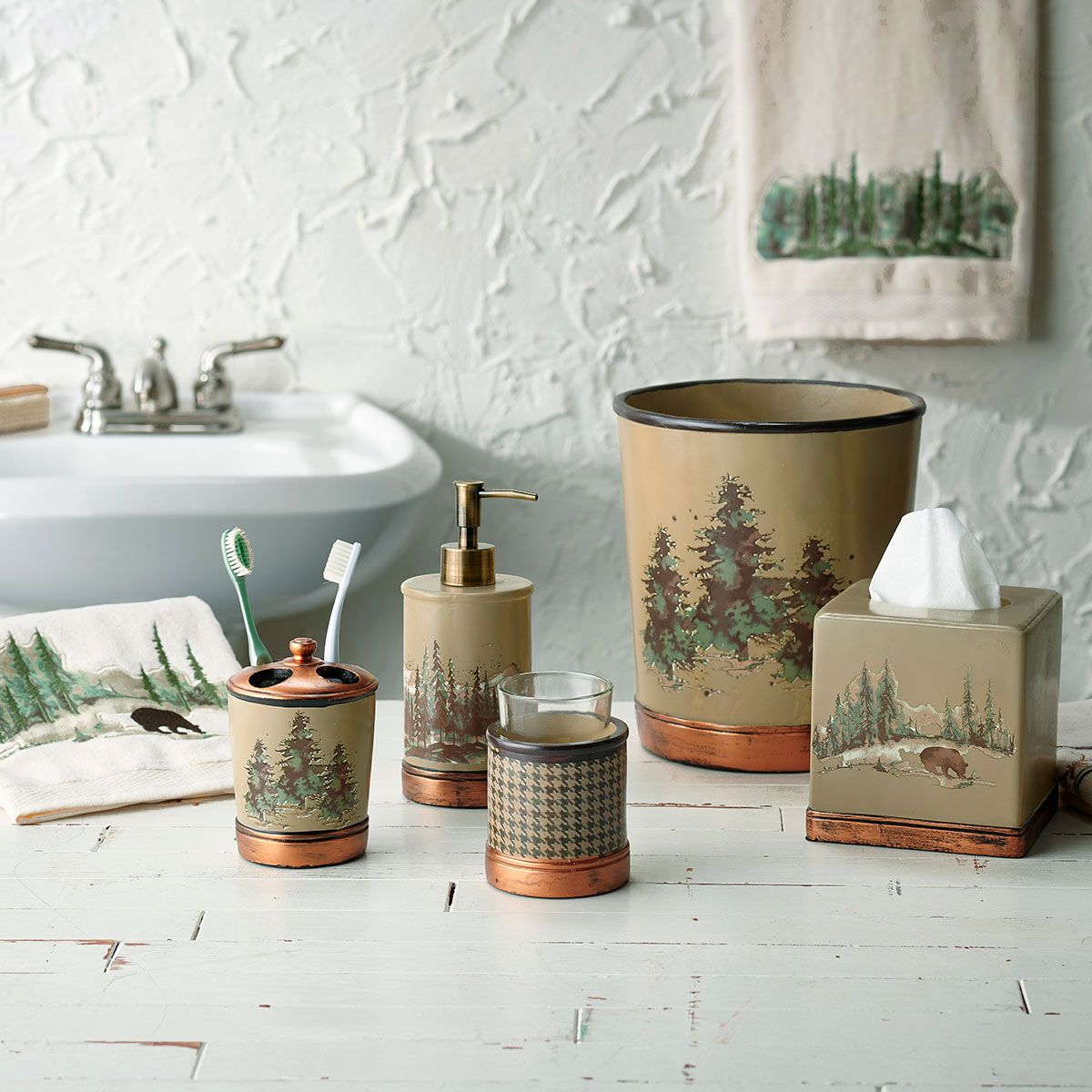 How To Spruce Up Your Cabin With Rustic Bathroom Decor Karen Batis