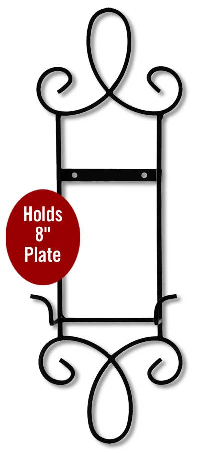 Single Plate Vertical Metal Scroll.