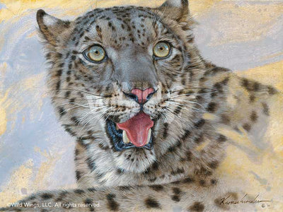<i>Spots & Stripes&mdash;Snow Leopard</i>