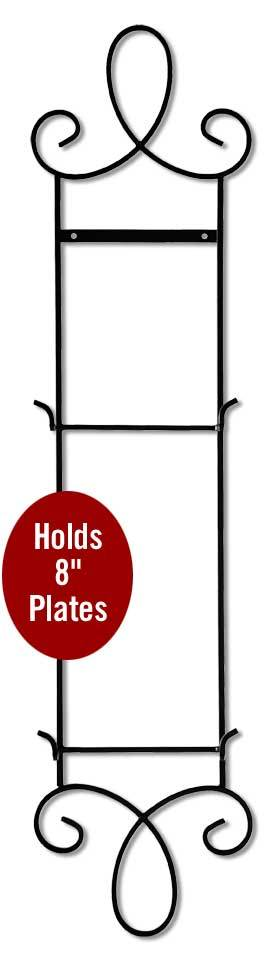 2—Plate Vertical Metal Scroll.