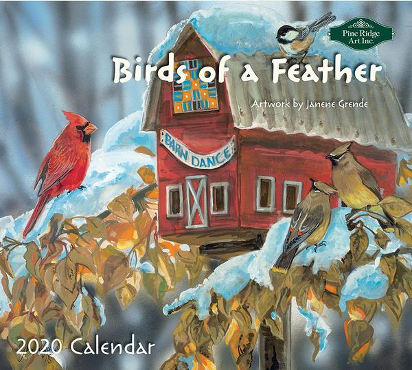 <I>Birds Of A Feather</i> 2020 Calendar