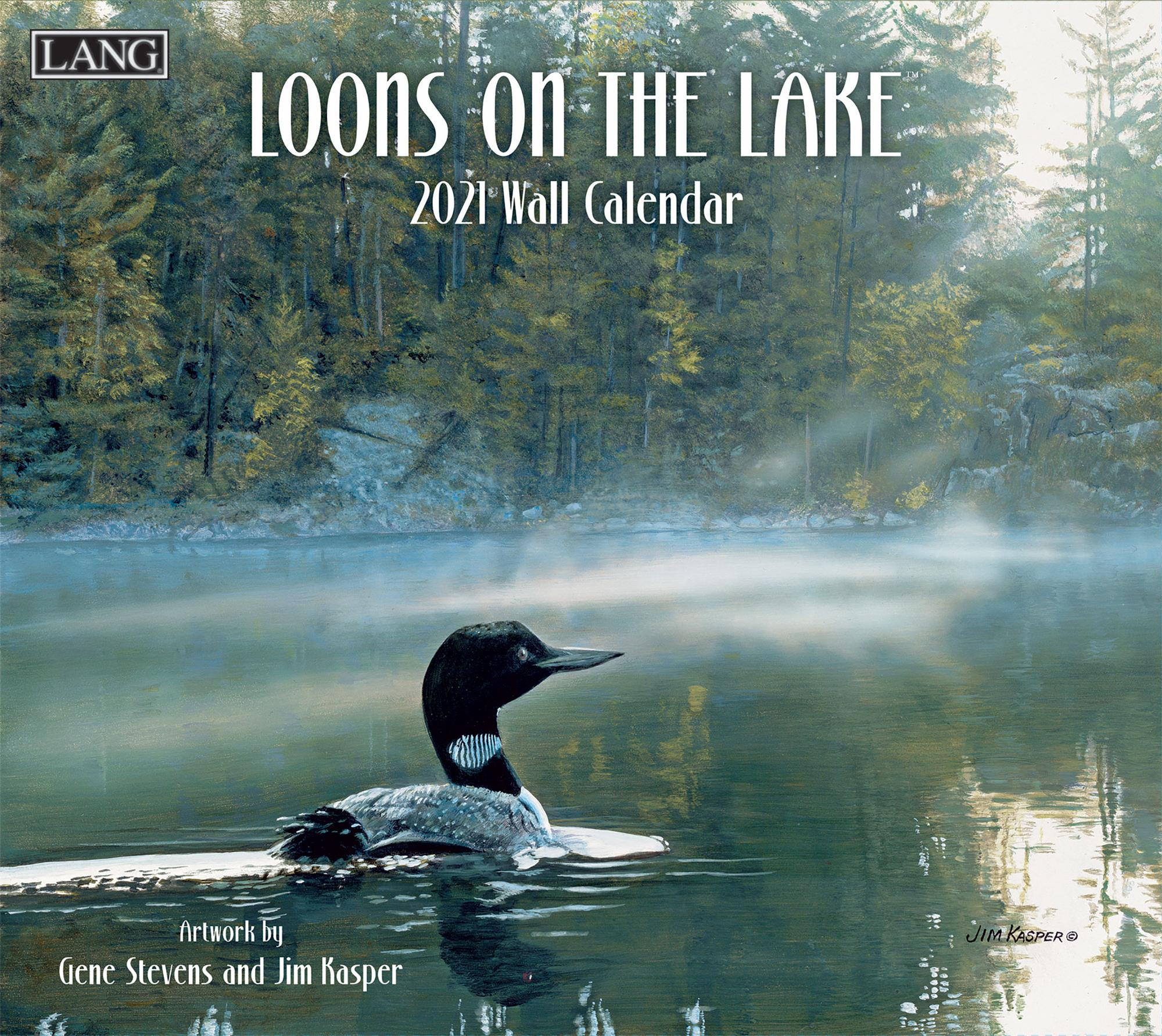 Loons on the Lake Calendar