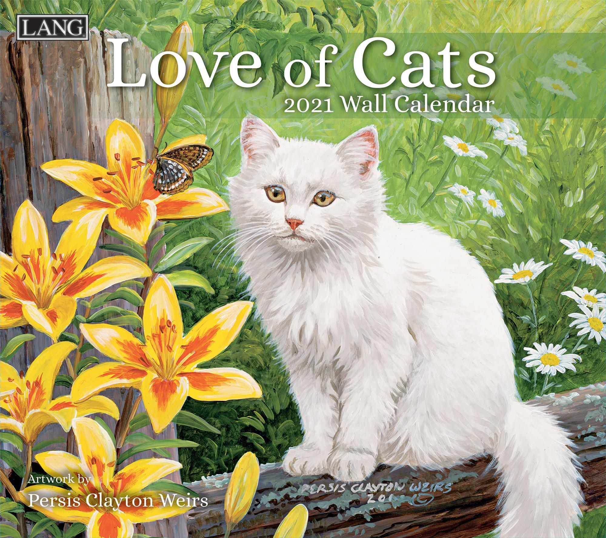 Love of Cats Calendar