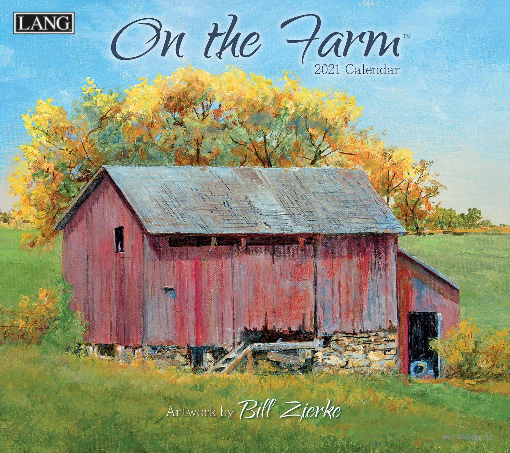 On the Farm Calendar