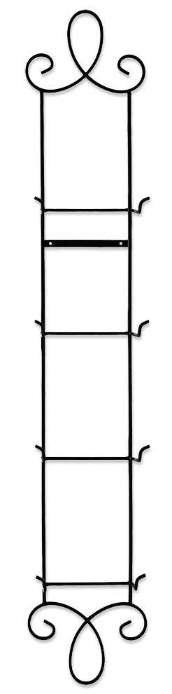 4—Plate Vertical Metal Scroll.