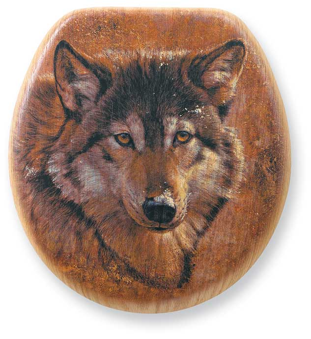 Wolf Elongated Toilet Seat