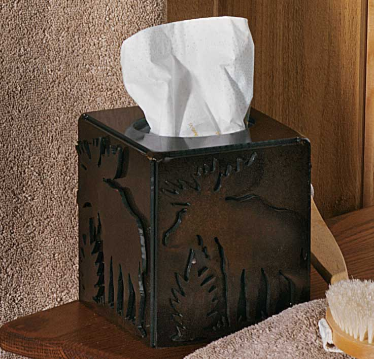 Moose Tissue Box Cover