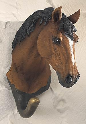 Bay Horse Wall Hook