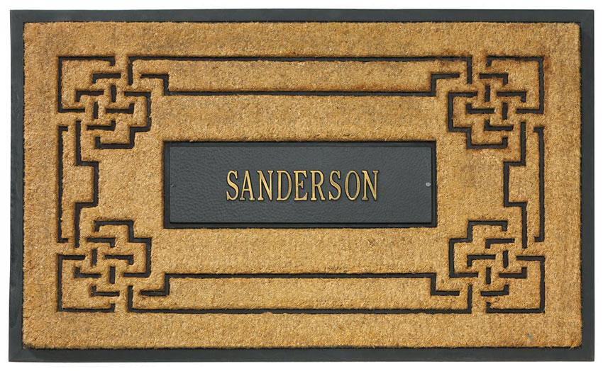 Coir Fiber Personalized Entry Mat