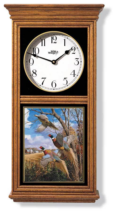 Pheasants Regulator Clock