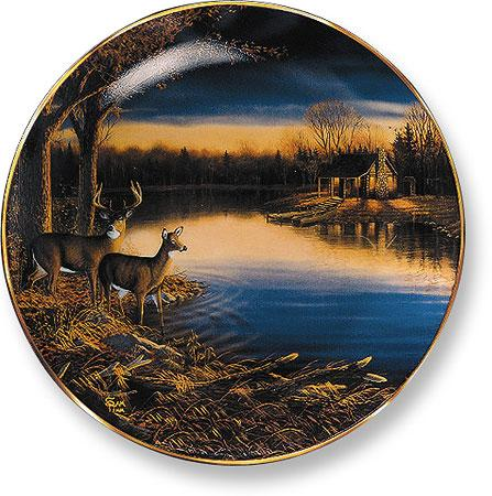 Tranquil Evening—Deer.