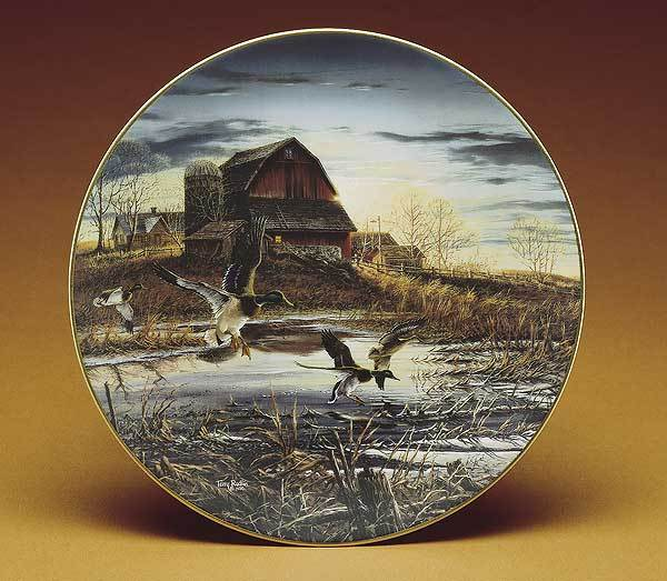 Morning Chores Collector Plate