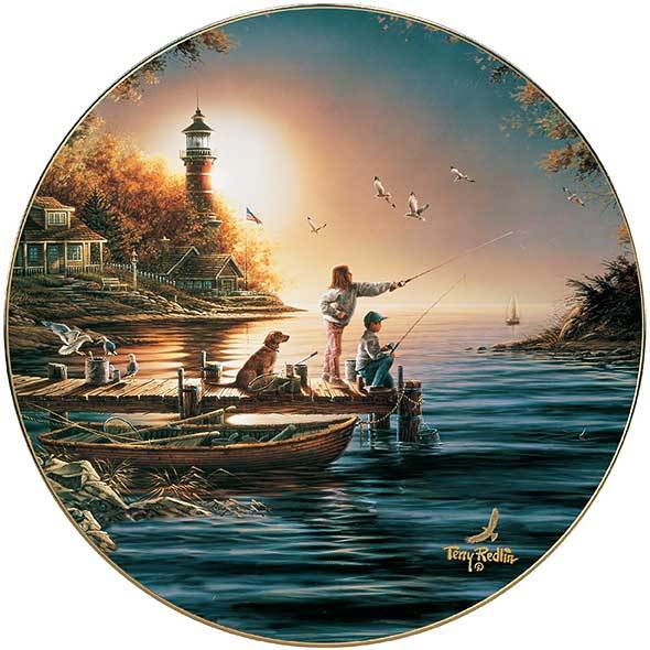 From Sea To Shining Sea Collector Plate
