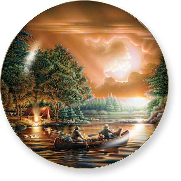 Evening Rendezvous Collector Plate