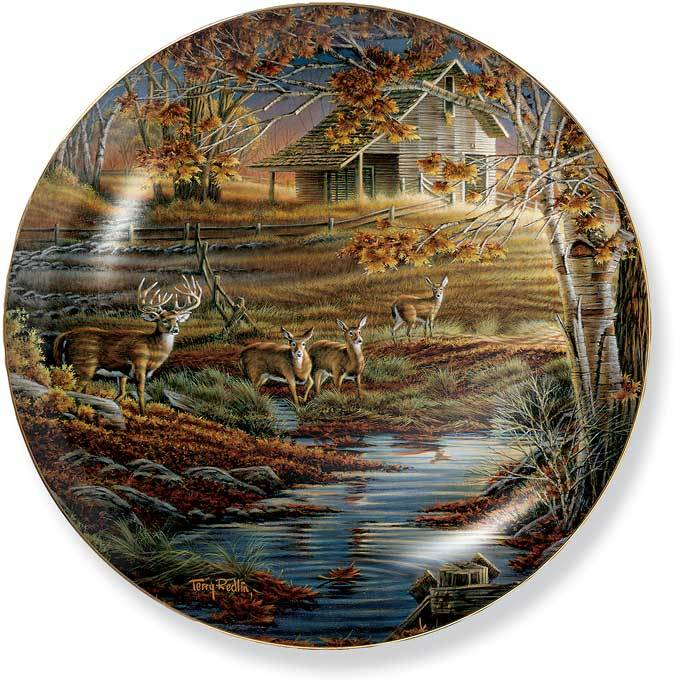 Natures Sentinel Collector Plate