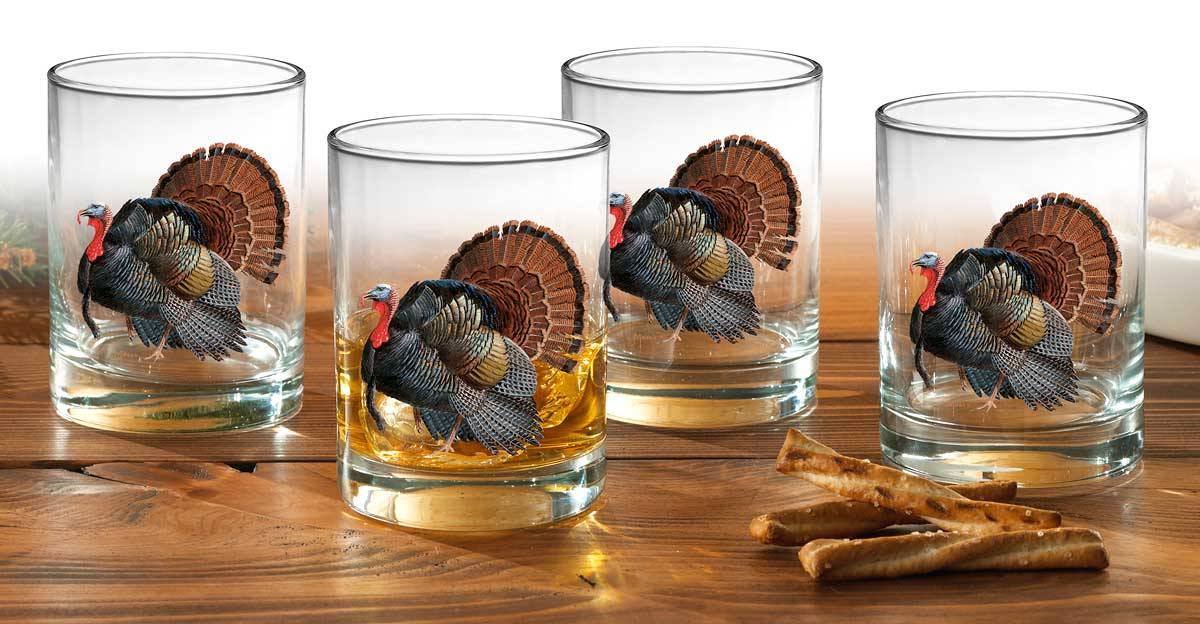 Turkey Double Old Fashioned Glasses