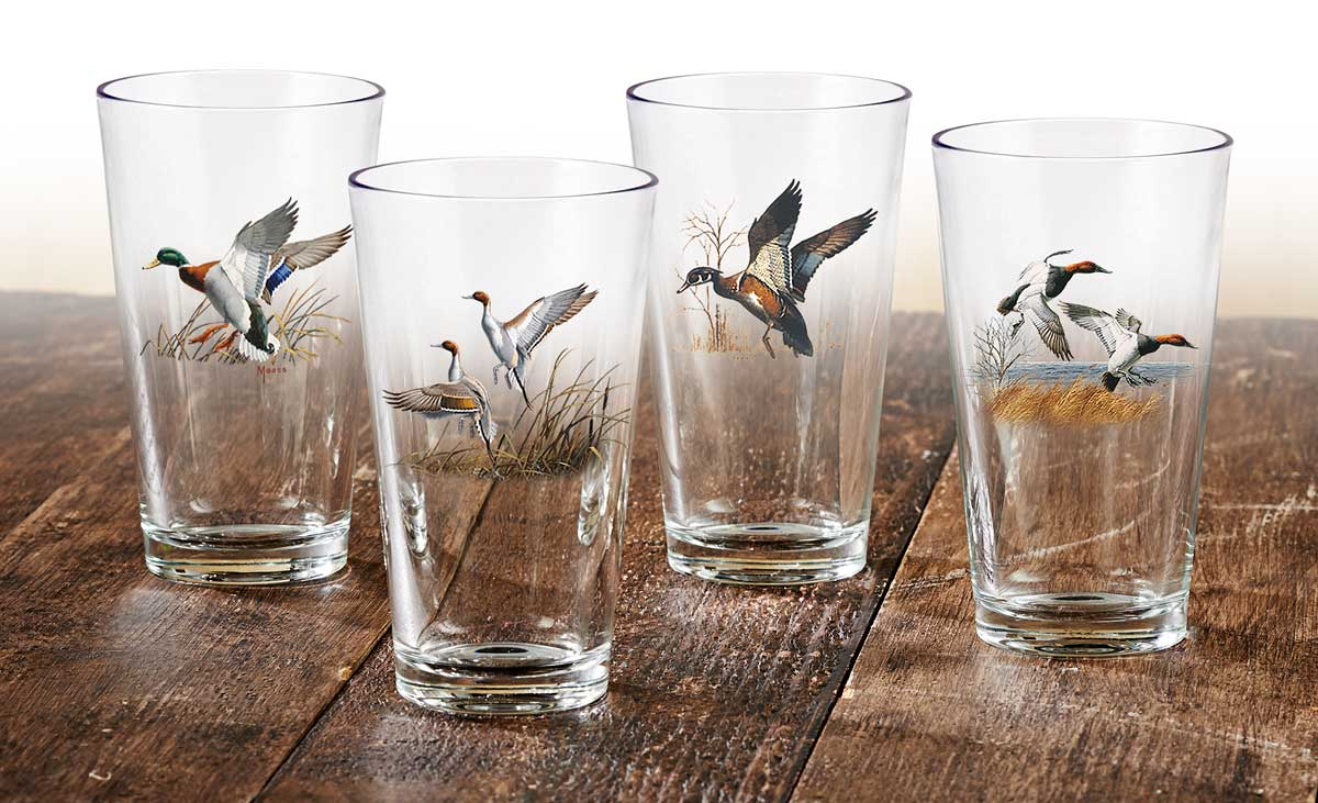 Waterfowl Mixer Glasses